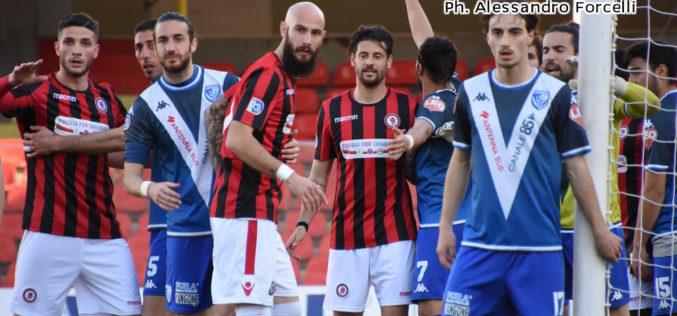 Foggia-Brindisi 1-0, Gentile di rigore (poi ne sbaglia un altro). Tre punti d'oro per i rossoneri