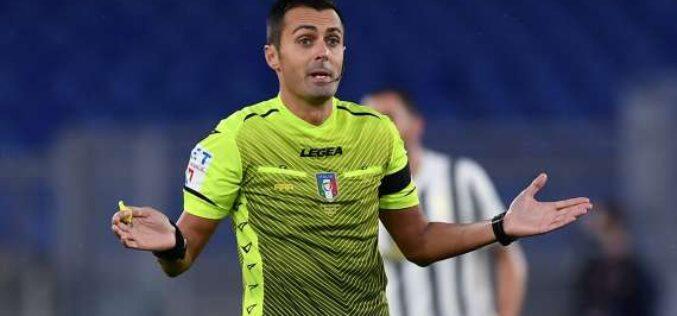 Foggia-Bisceglie dirige Stefano Nicolini di Brescia