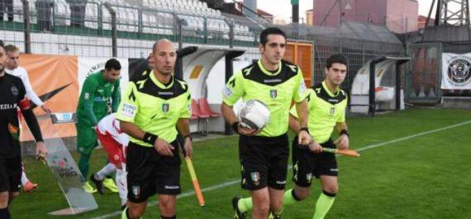 Foggia-Bari dirige Matteo Marcenaro di Genova