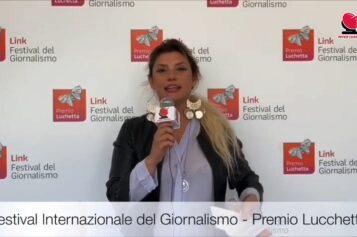 Flora Baldi al Festival Internazionale del giornalismo – Premio Lucchetta