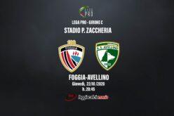 Foggia-Avellino: le ultimissime