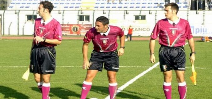 Teramo-Foggia dirige Gino Garofalo di Torre del Greco