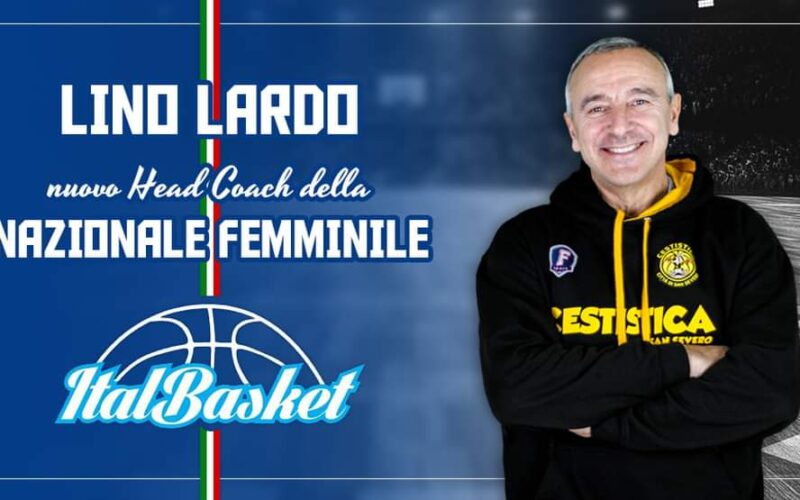 Lino Lardo nuovo allenatore dell'Italdonne
