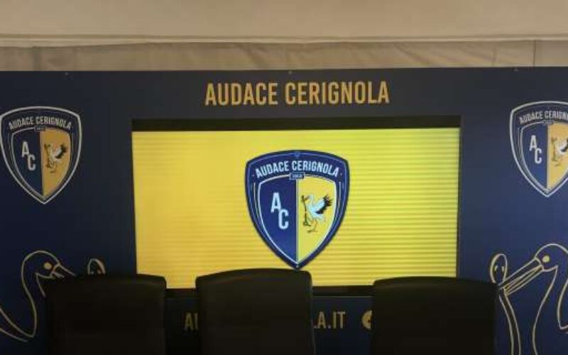 """Cerignola, Verde: """"Lavoriamo sodo, col Lavello per vincere"""""""