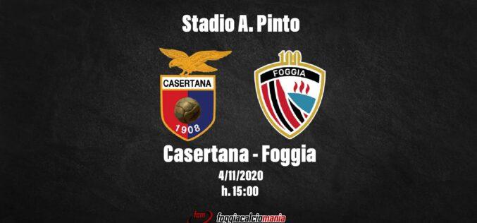 Casertana-Foggia: le ultimissime