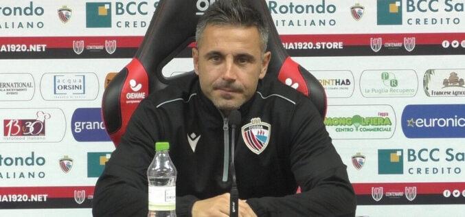 """Marchionni segue il derby d'Apulia e il Foggia risponde: """"Sei sempre nei nostri cuori"""""""