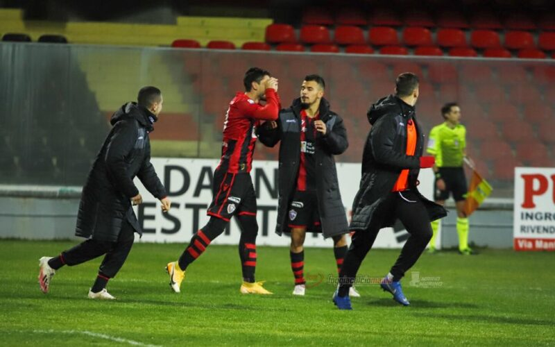 """Dell'Agnello: """"Momento personale difficile, contento per il gol"""""""