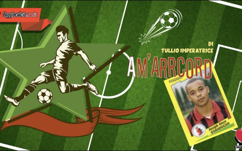 La Champions League, i giovani talenti e il Foggia nella mente di Joseph Dayo Oshadogan