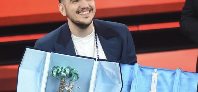 Luca Gaudiano sbanca San Remo  e porta a casa il trofeo sognato. La gioia di una città intera