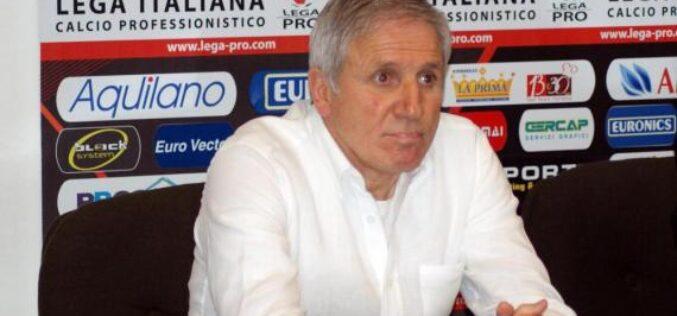 La S.S. Juve Stabia comunica la rescissione contrattuale con Peppino Pavone