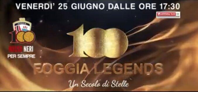 """100 – Foggia Legends"" in diretta su Antenna Sud"