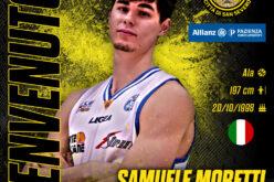 Un altro tassello per l'Allianz: ufficiale l'acquisto di Samuele Moretti
