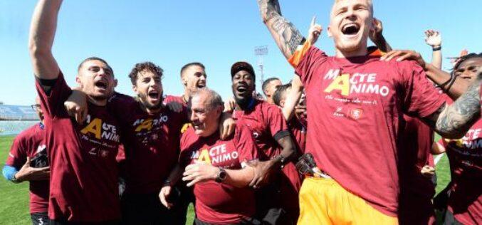 Salernitana in Serie A! Il Consiglio Federale ha votato in favore del trust, via libera all'iscrizione