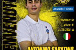 Benvenuto all'under Antonino Sabatino!
