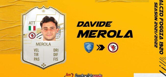 Davide Merola è del Foggia