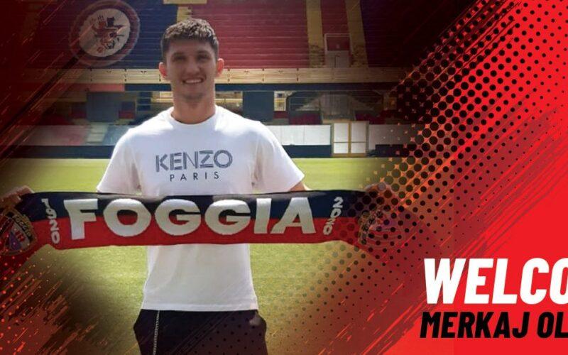 TFG SPORT – Comincia a muoversi il mercato del Foggia: preso l'attaccante Merkaj, rescisso il contratto con Gavazzi