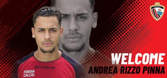 Andrea Rizzo Pinna firma con il Foggia