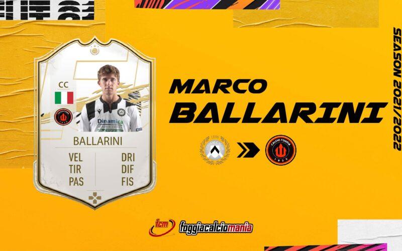 Marco Ballarini è del Foggia