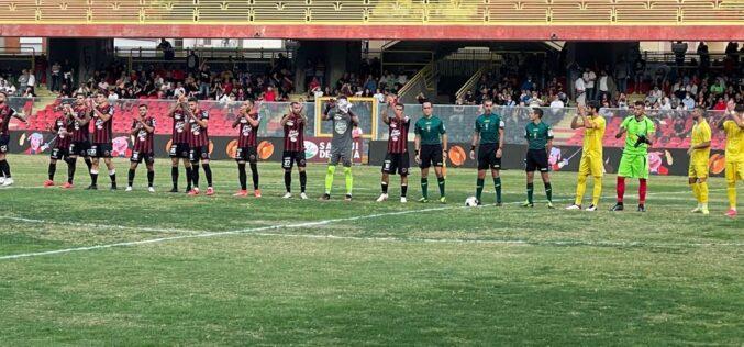 """Ferrante: """"Il gol lo dedico a tutti i nostri tifosi"""""""
